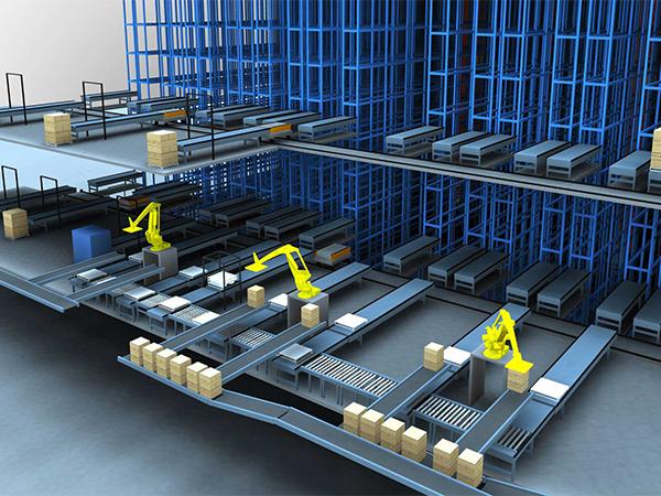 倉儲設備-智能倉儲系統1